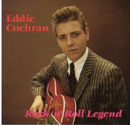 EDDIE COCHRAN - ROCK & ROLL LEGEND (CD)