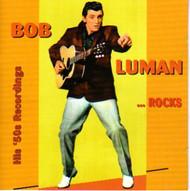 BOB LUMAN - ROCKS (CD)