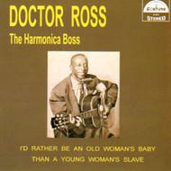 DOCTOR ROSS - THE HARMONICA BOSS (CD)