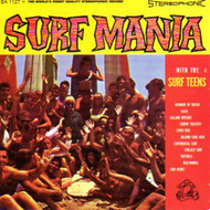 SURF TEENS - SURF MANIA (CD)