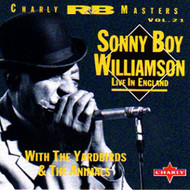 SONNY BOY WILLIAMSON - LIVE IN ENGLAND (CD)