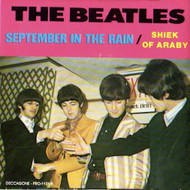BEATLES - SHIEK OF ARABY/SEPTEMBER IN THE RAIN