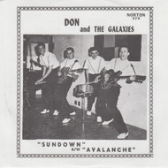 070 DON AND THE GALAXIES - AVALANCE / SUNDOWN (070)