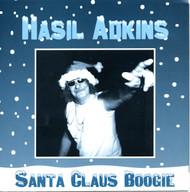 022 HASIL ADKINS - SANTA CLAUS BOOGIE / BLUE CHRISTMAS (022)