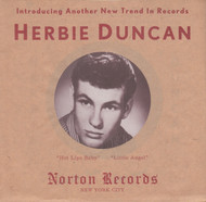 117 HERBIE DUNCAN - HOT LIPS BABY / LITTLE ANGEL (117)