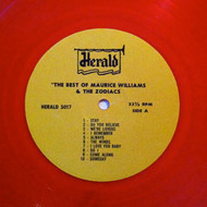 MAURICE WILLIAMS AND THE ZODIACS (Red)