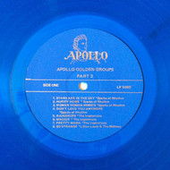 GOLDEN GROUPS VOL. 50 - BEST OF APOLLO VOL. 3 (LP Blue vinyl)