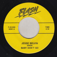 JESSE BELVIN - BABY DON'T GO