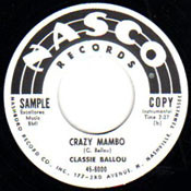 CLASSIE BALLOU - CRAZY MAMBO