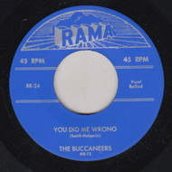 BUCCANEERS - YOU DID ME WRONG