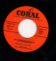GEORGE CARTER - I'M YOUR BOOGIE MAN