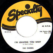 CHIMES - I'M LEAVING YOU BABY