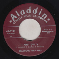 CRAWFORD BROS. - I AIN'T GUILTY