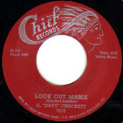 "G. ""DAVY"" CROCKETT - LOOK OUT MABLE"