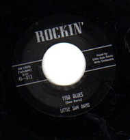 DAVIS • LITTLE SAM DAVIS - 1958 BLUES