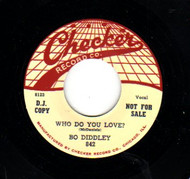 BO DIDDLEY - WHO DO YOU LOVE?