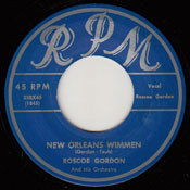 ROSCOE GORDON - NEW ORLEANS WIMMEN