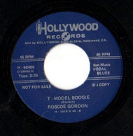 ROSCOE GORDON - T-MODEL BOOGIE