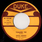 ROSCO GORDON - TUMMER TEE
