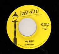JACKIE AND THE STARLITES - VALARIE