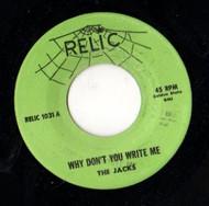 JACKS - WHY DON'T YOU WRITE ME