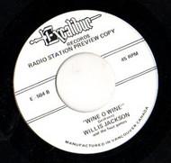 WILLIS JACKSON - WINE O WINE