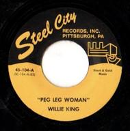 WILLIE KING - PEG LEG WOMAN