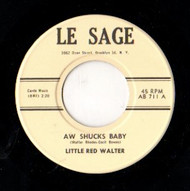 LITTLE RED WALTER - AW SHUCKS BABY
