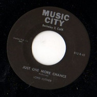 LORD LUTHER - JUST ONE MORE CHANCE