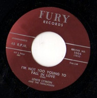 LEWIS LYMON - I'M NOT TOO YOUNG TO FALL IN LOVE