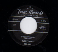 BUDDY LOWE - GOODBYE BABY