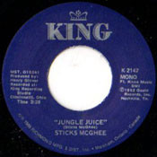 STICK McGHEE - JUNGLE JUICE/SIX TO EIGHT