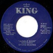 STICK McGHEE - JUNGLE JUICE/SIX TO EIGHT