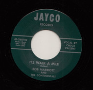 BOB MARRIOTT - I'LL WALK A MILE