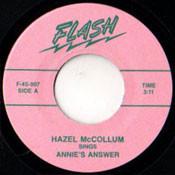 HAZEL McCOLLUM - ANNIE'S ANSWER