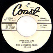 MEADOWLARKS - PASS THE GIN
