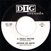ARTHUR LEE MAYE - A FOOL'S PRAYER
