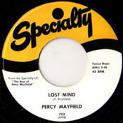 PERCY MAYFIELD - LOST MIND