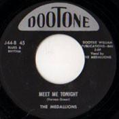 MEDALLIONS - MEET ME TONIGHT