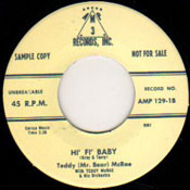 "TEDDY ""MR. BEAR"" McRAE - HI FI BABY"