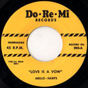 MELLO-HARPS - LOVE IS A VOW