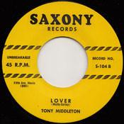 TONY MIDDLETON - LOVER