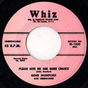 GENE MUMFORD AND SERENADERS - PLEASE GIVE ME ONE MORE CHANCE