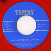 MONORAYS - FIVE MINUTES TO LOVE YOU/MY GUARDIAN ANGEL