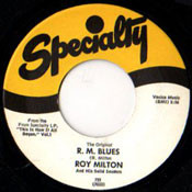 ROY MILTON - R.M. BLUES