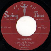 MUSKATEERS - LOVE ME TIL YOUR DYING DAY
