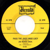 JOE MORRIS - PASS THE JUICE MISS LUCY
