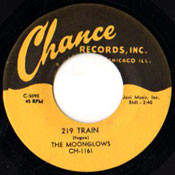 MOONGLOWS - 219 TRAIN