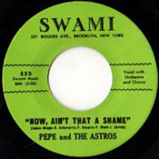 PEPE AND ASTROS - NOW AIN'T THAT A SHAME