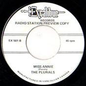 PLURALS - MISS ANNIE